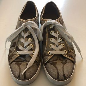 Size 7.5 COACH Sneakers